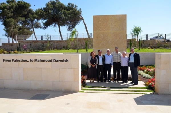 Museu Mahmoud Darwish - brasileiros