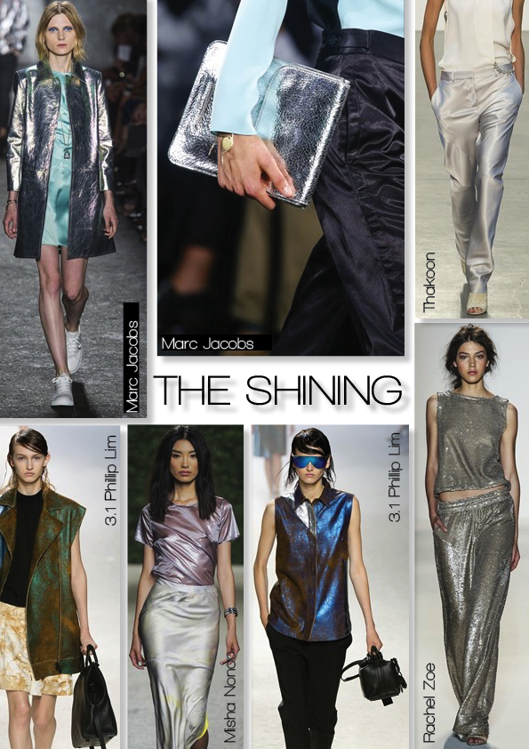 NYFWSS14THESHININGTREND