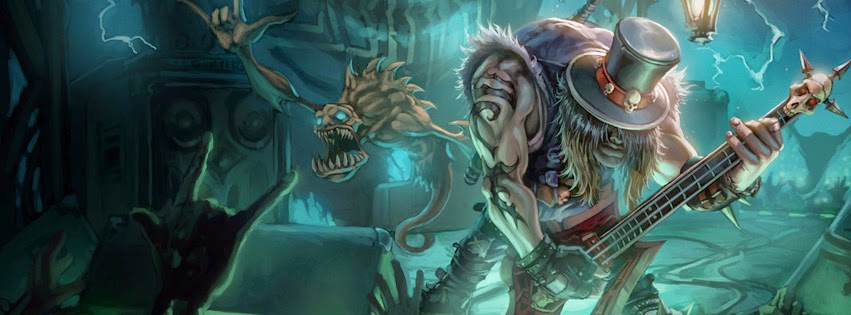 Yorick League of Legends Facebook Cover Photos