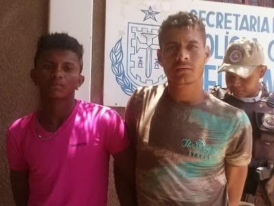 CORRENTINA: POLÍCIA MILITAR DA VILA ROSÁRIO PRENDE DOIS HOMENS COM CARRO E MOTOS ROUBADOS.
