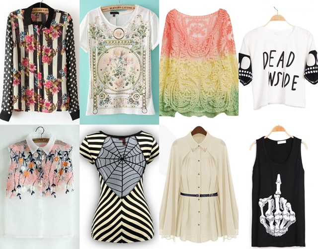 beautiful top clothes