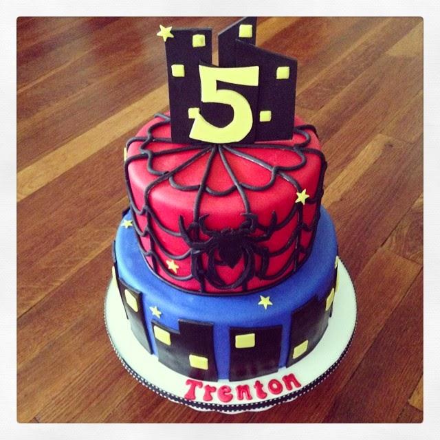 Cakes by Becky Spiderman Birthday Cake