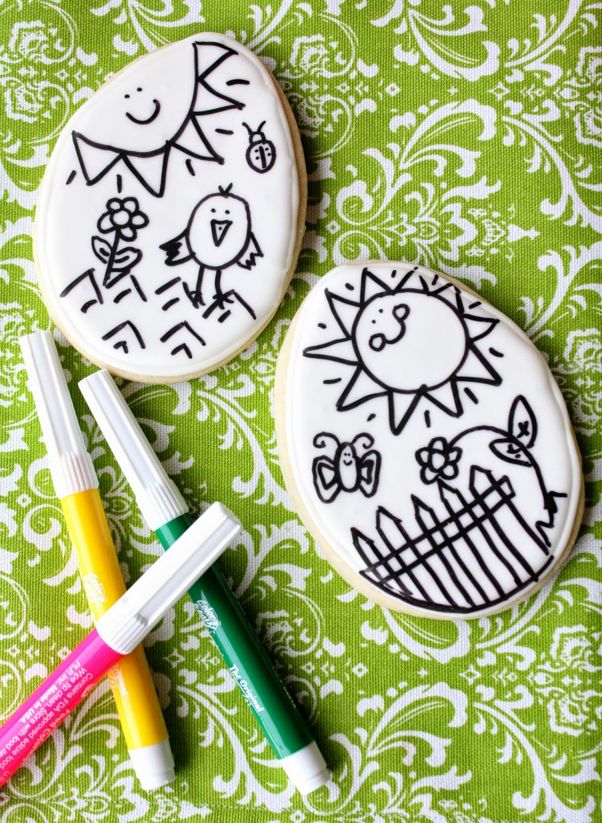 Easter Coloring Book Cookies with Munchkin Munchies {Guest Post ...