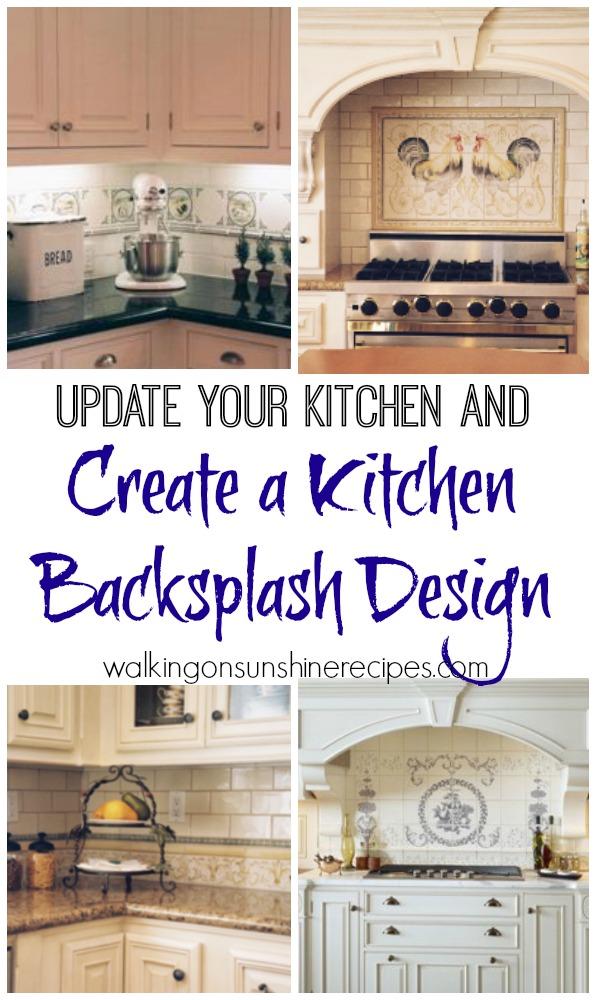 Kitchen Backsplash Focal Point