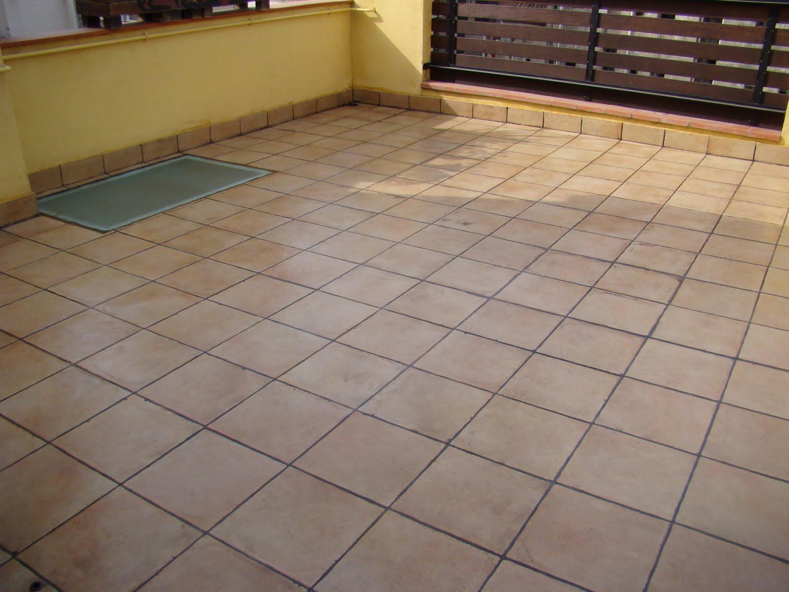 Por si te ayuda impermeabilizar una terraza for Ceramicas para pisos exteriores precios