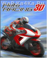 3D Motorcycle Racing Game 240x320 Screenshot