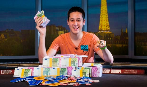 WSOPE 2013 Main Event Adrian Mateos