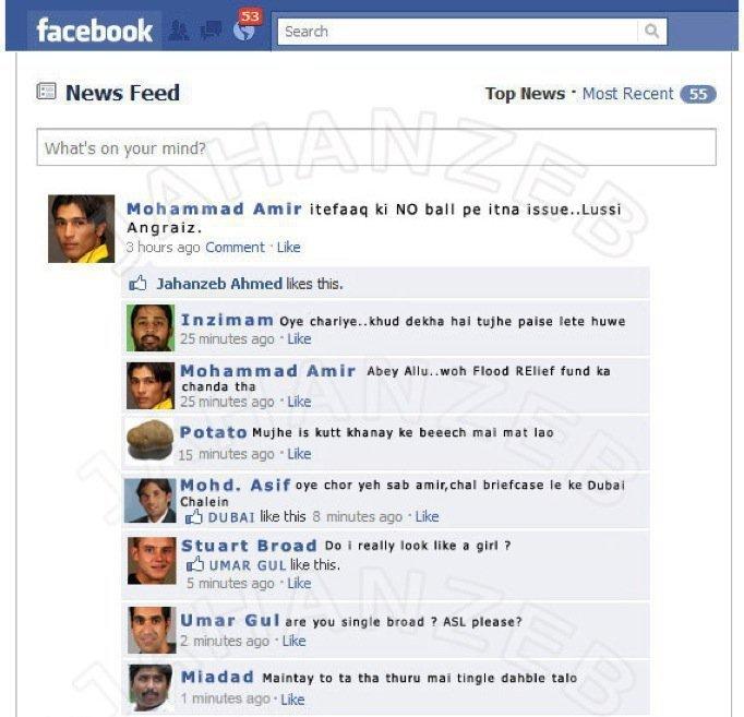 funny facebook status jokes