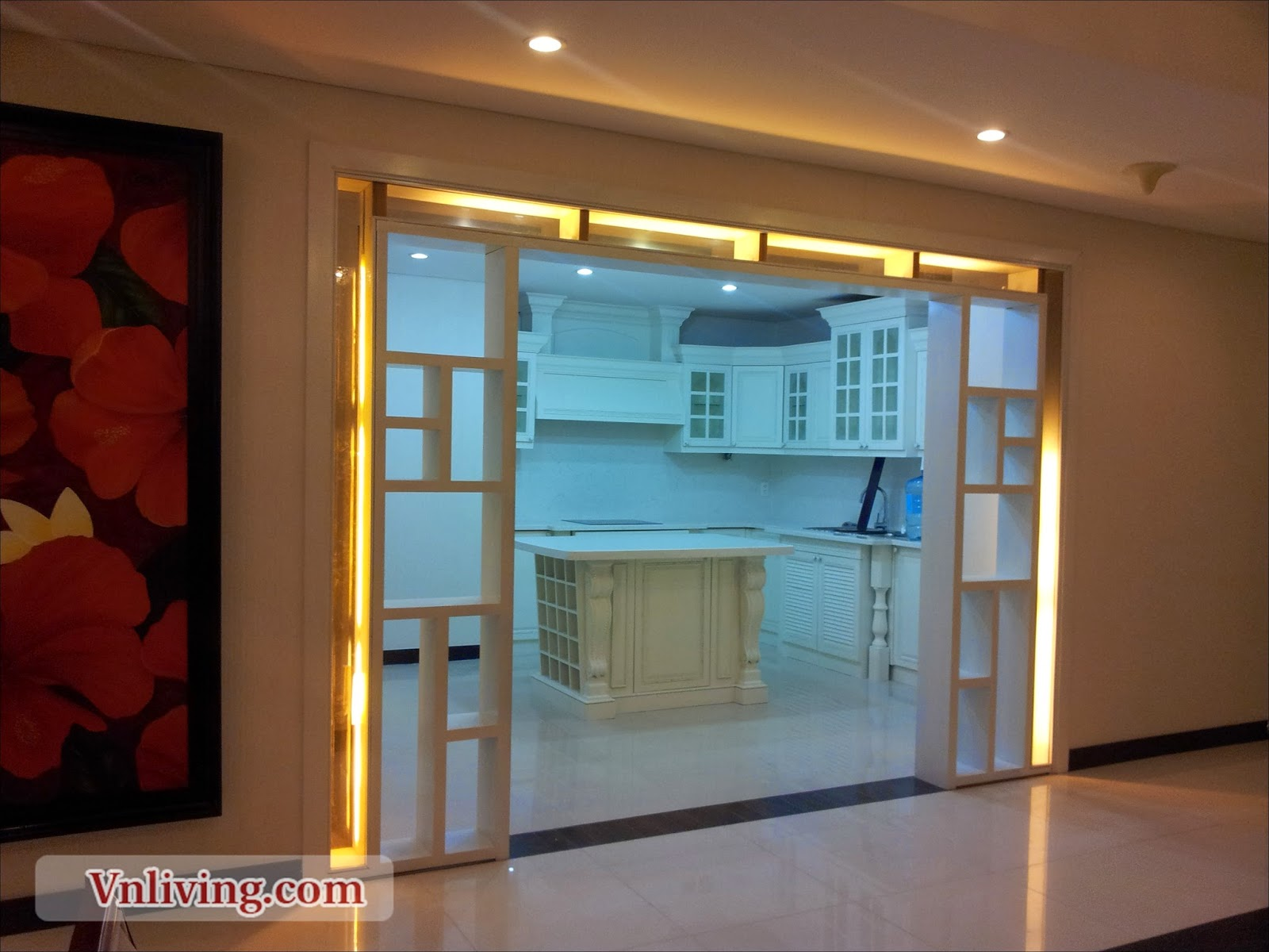 Penthouse The Manor for rent 4 bedrooms at Binh Thanh District