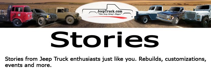 Jeep Truck Stories