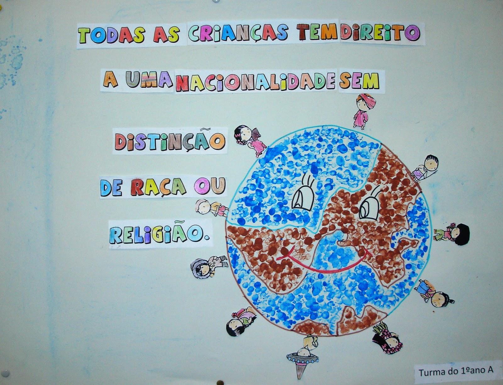 Populares Janela Colorida: DIREITOS DA CRIANÇA YN59