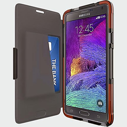 Tech 21 Impactology Classic Frame Wallet for Samsung Galaxy Note 4