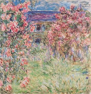 Monet, La Maison dans les roses, Albertina, Vienne