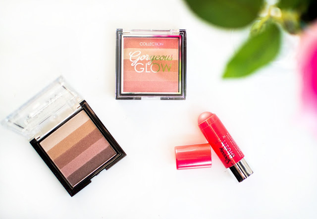 Collection Gorgeous Glow Blocks and Speedy Blush Stick