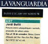 1997.EXPOSICIÓN. FUNDACIÓN NEREO. CASA CARMEN AMAYA. Begur (Girona) Spain.