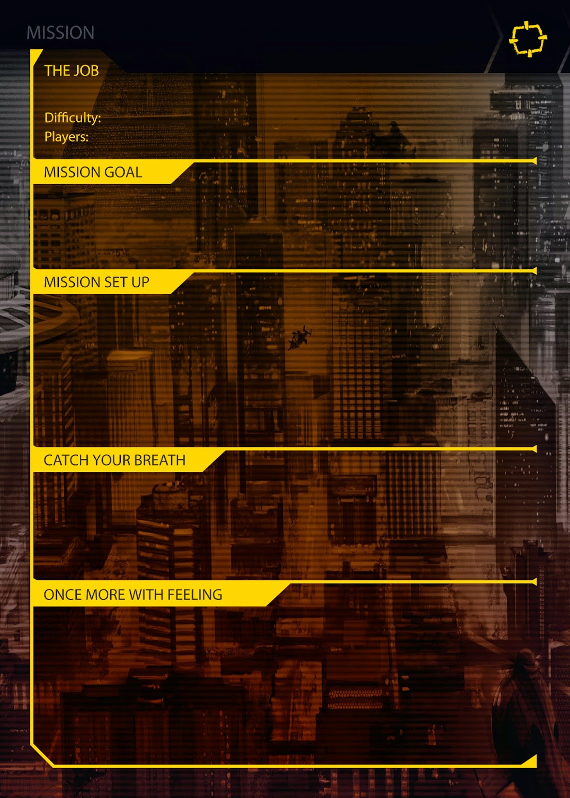 Hall or Nothing Productions Ltd: Shadowrun: Crossfire Blank Scenario ...