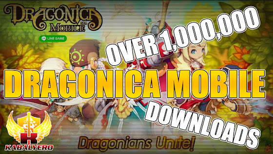 Dragonica Mobile ★ Reached Over 1,000,000 Downloads