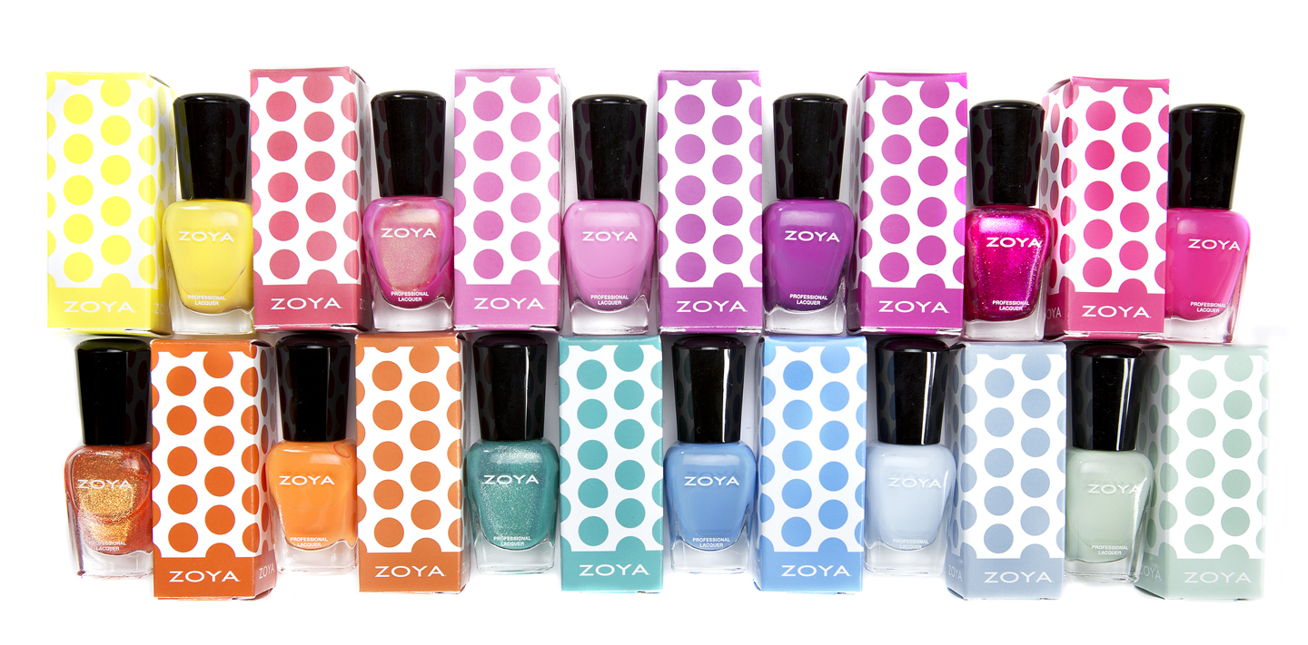 CANDY COATED TIPS: New Summer colors for Zoya!
