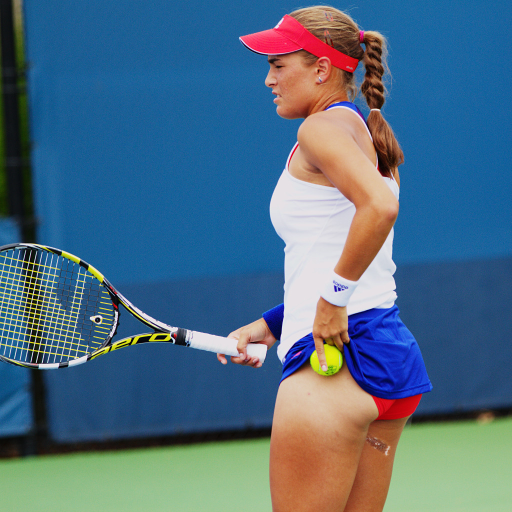 Hot tennis player ass