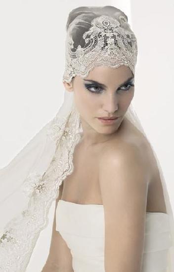 velos de novia tipo pirata | belleza y moda, vestidos para gorditas