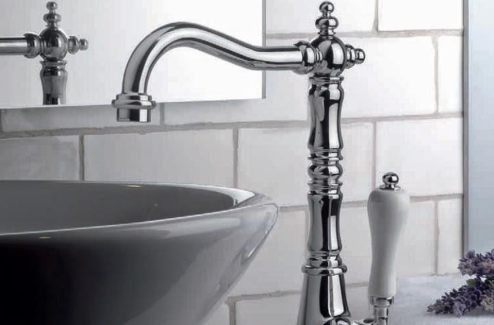 Grifos rústicos monomando para baños clásicos ~ Reformas ...