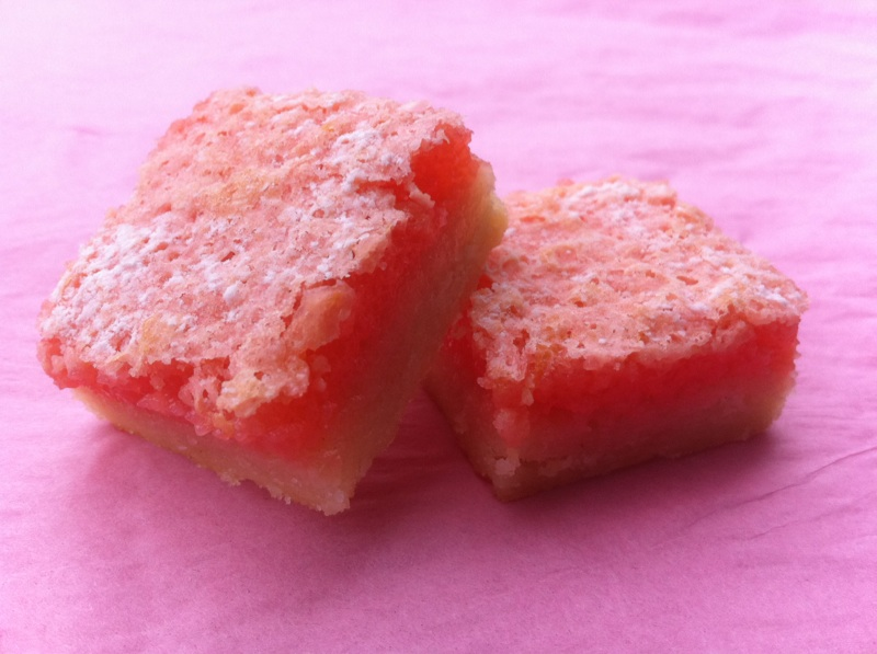 Pink Lemonade Bars | Cookin' And Kickin'