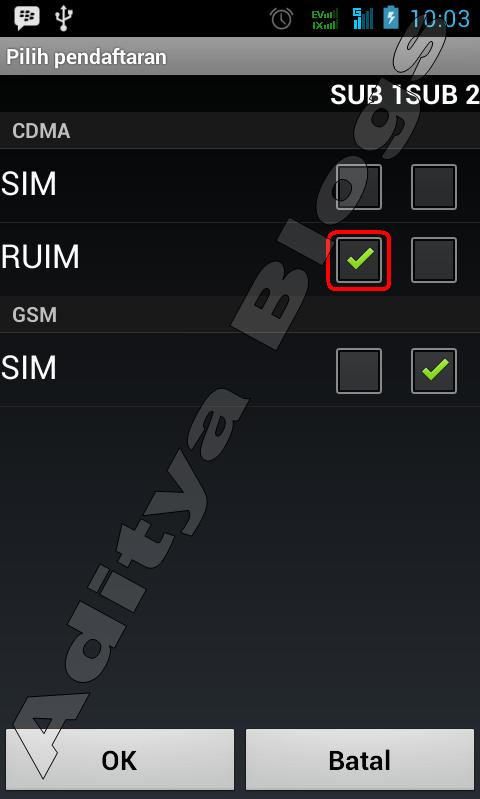 Cara Mengaktifkan Koneksi Internet GSM Di Smartfren Andromax