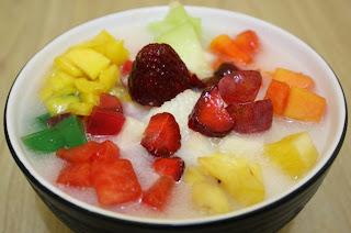 resep es buah enak