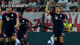 Liputan Bola - Bayern Muenchen meraih sukses besar di matchday pertama Liga Champions Grup F