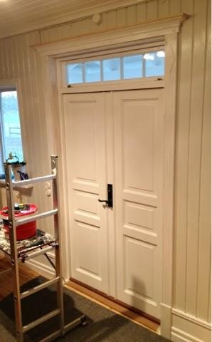 Krönlist dörr