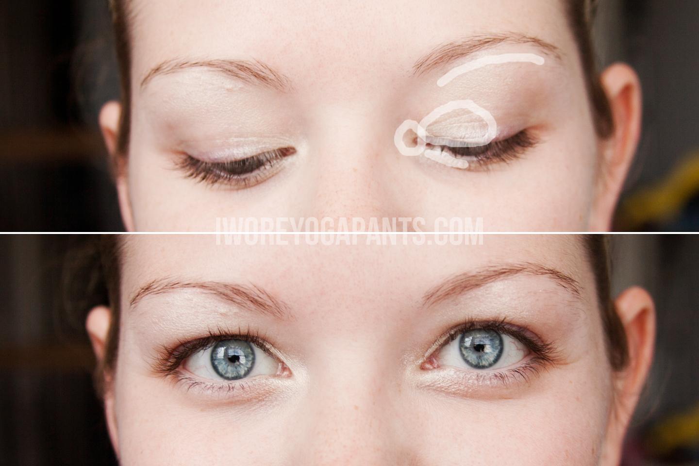 Everyday makeup tutorial for brown eyes