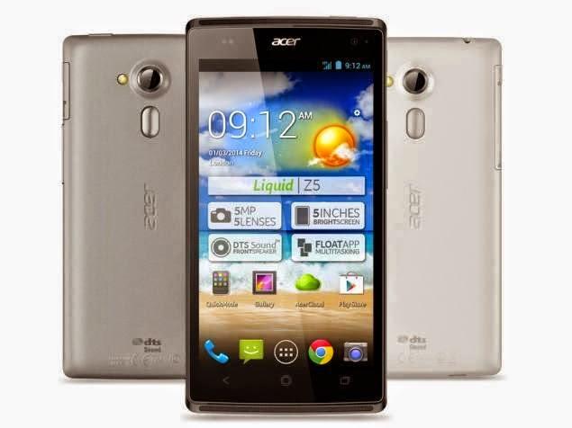 Spesifikasi Dan Harga New Acer Liquid Z5
