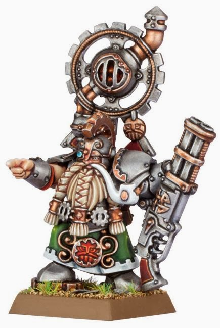 New 8th edition Dwarf Character
