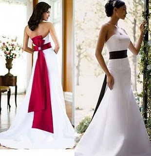 White  Black Dress on Black White And Red Wedding Dresses  Wedding Dresses Pics