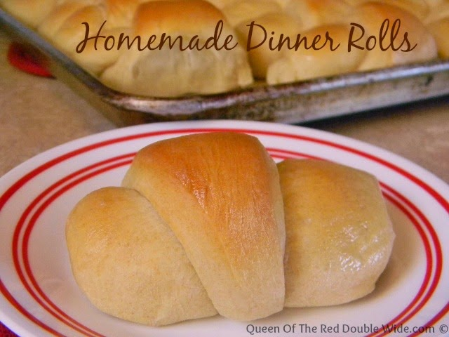 Homemade Dinner Rolls, shared by Queen of the Red Doublewide