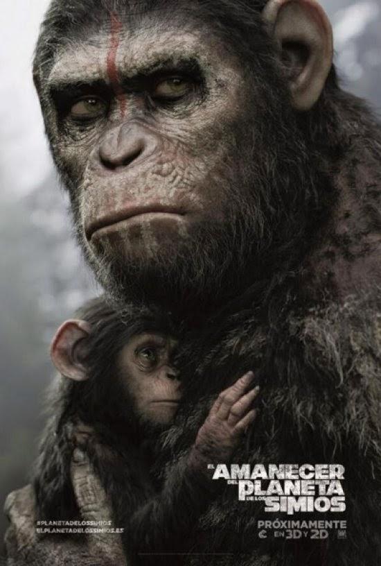 El amanecer del planeta de los simios (2014) de Matt Reeves