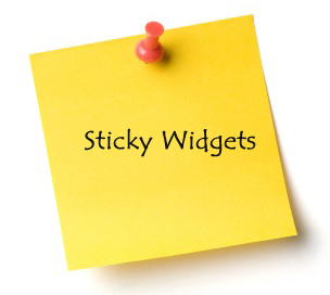 membuat sticky widget di blog dengan mudah