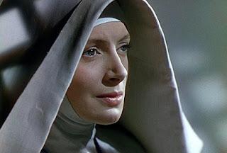"Deborah Kerr en ""Narciso negro"" monja"