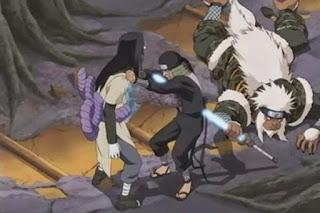 Sarutobi Sasuke VS Orochimaru mangacomzone