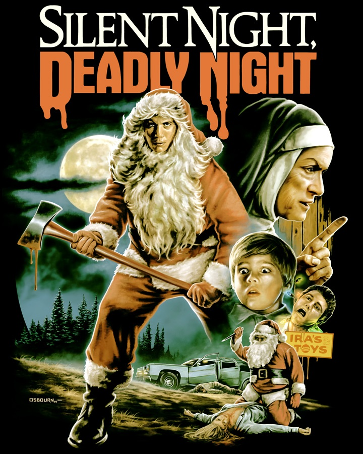Silent Night, Deadly Night design