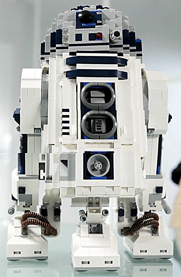how to build r2d2 out of legos