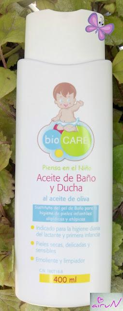 aceite baño biocare dermatitis atópica