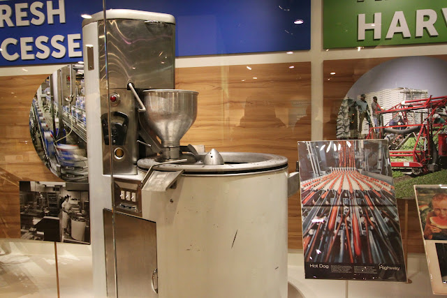 Factory food processing production at National Museum of American History in Washington DC, USA