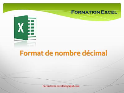 format de nombre decimal