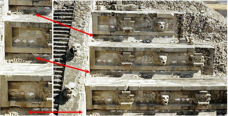 Codigos Cristalinos: Pirámide de la Serpiente Emplumada - Quetzalcóatl