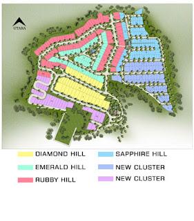 Siteplan CitraSun Garden