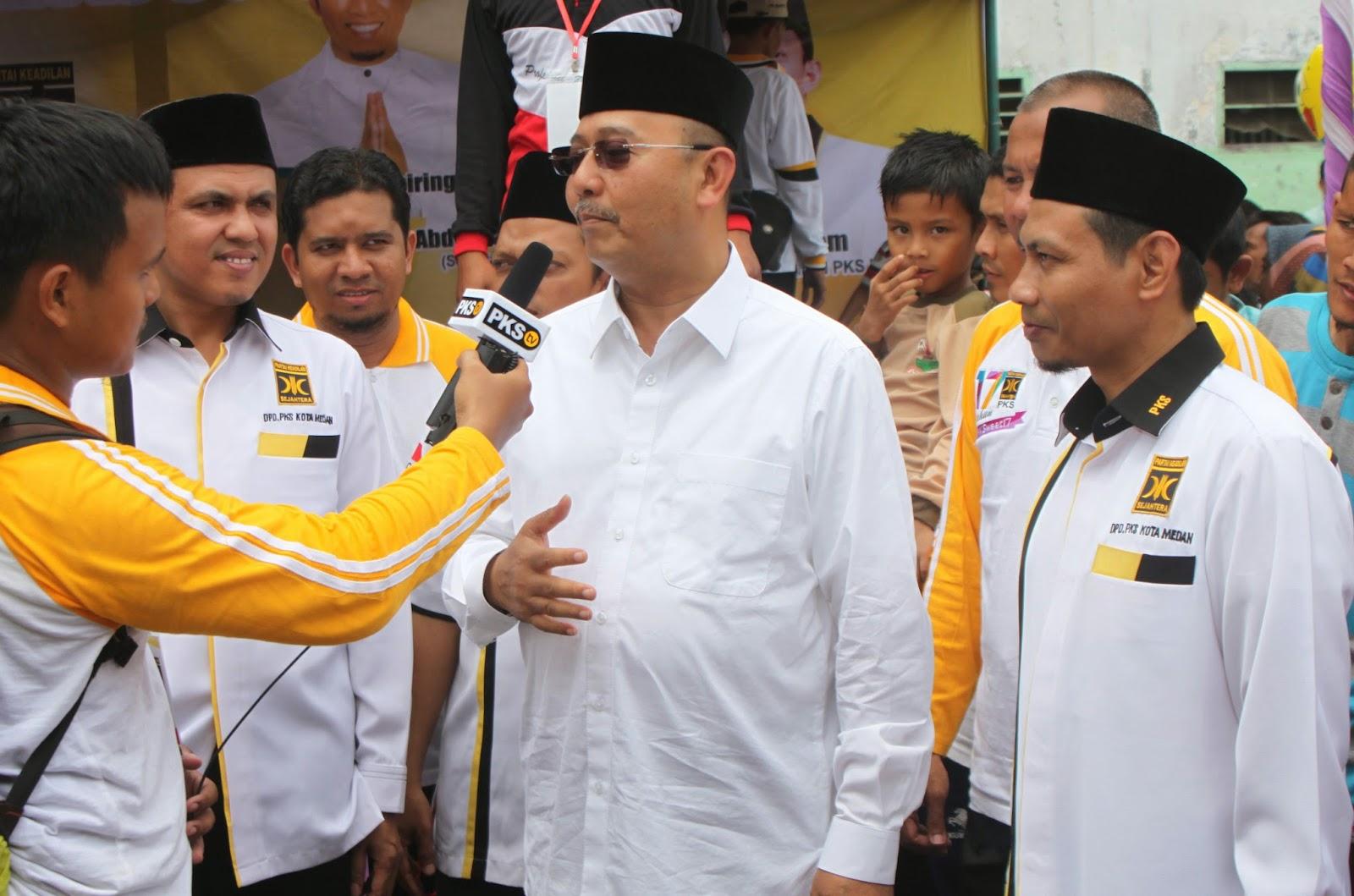 Walikota Medan Hadiri Acara Puncak Milad PKS Ke-17