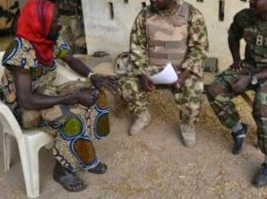 boko haram dressed women