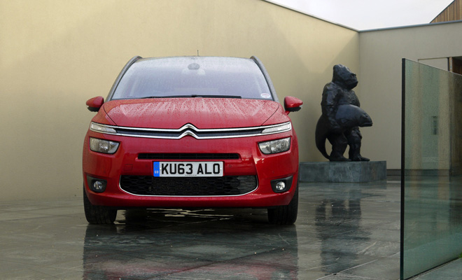 2014 Grand C4 Picasso front view