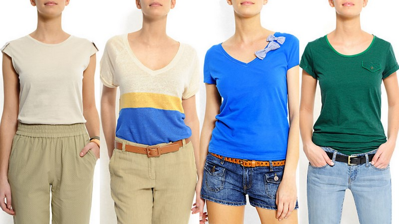 3da2fd9424 Las camisetas son para el verano - El armario de Lu by Jane